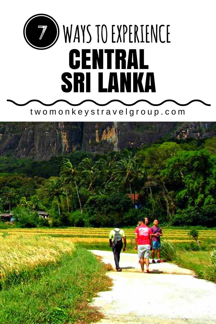 7 Ways to Experience Central Sri Lanka  eing an island with multiple climates, landscapes, history and diverse wildlife many would try to squeeze it all into one trip. In June I was invited by TBC Asia and Cinnamon Hotels to choose one area to explore in depth over a one week tour and while white sand beaches and wild camping in the safari park were very tempting, for me central Sri Lanka's mix of rugged mountain ranges, misty tea plantations and craft culture was the biggest draw.