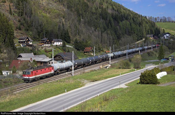 1144 074 ÖBB Austrian State Railways 1144 at Mürzzuschlag , Austria by Norbert Horváth