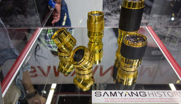 Samyang gold lenses