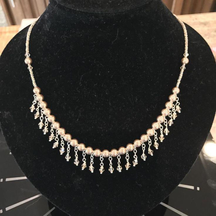 Pearls & Silver by Martha Brownell
