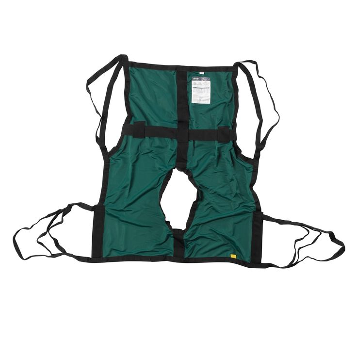 Drive 13254m One Piece Sling with Positioning Strap, with Commode Cutout, Medium