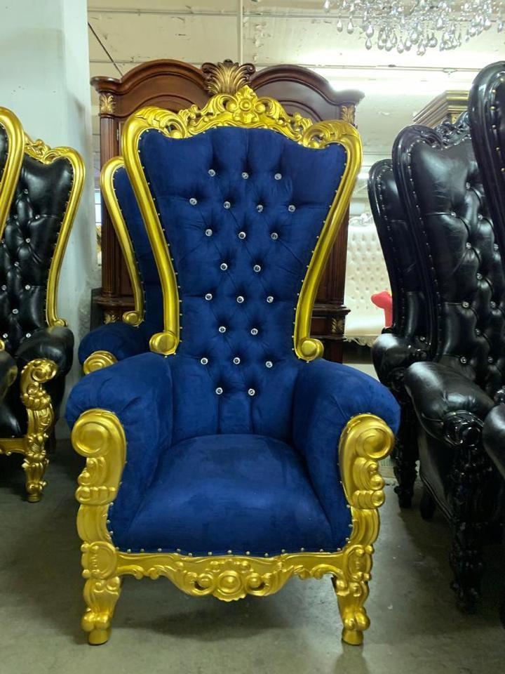 queen throne chair back