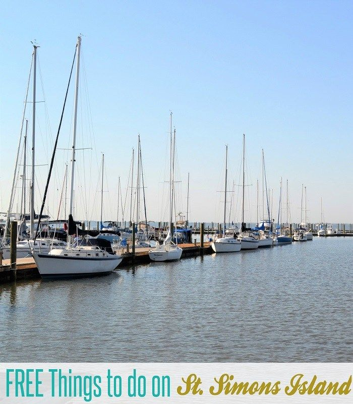 Planning a visit to St Simons Island, Georgia? Don't forget to check out this list of FREE things to do on St Simons Island! One of 13 major islands in the
