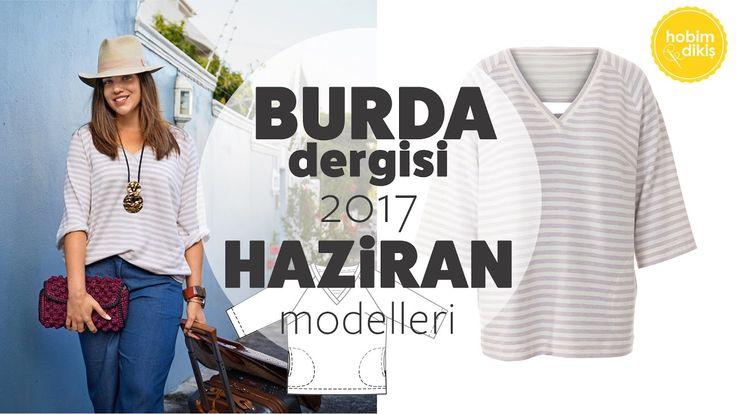 Burda Dergisi Haziran 2017 Modelleri