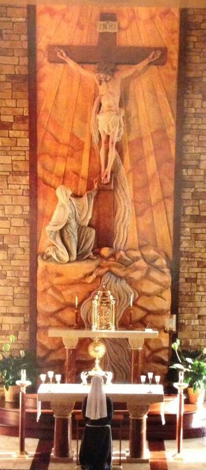 Adoration: There's nothing more beautiful than adoring Jesus with His mother along. Mama Mary, pray for us.