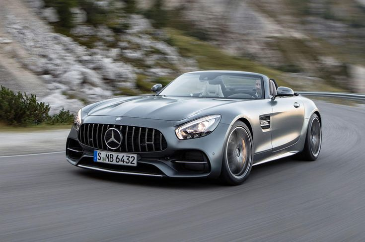 Mercedes-AMG GT Roadster and GT C Roadster