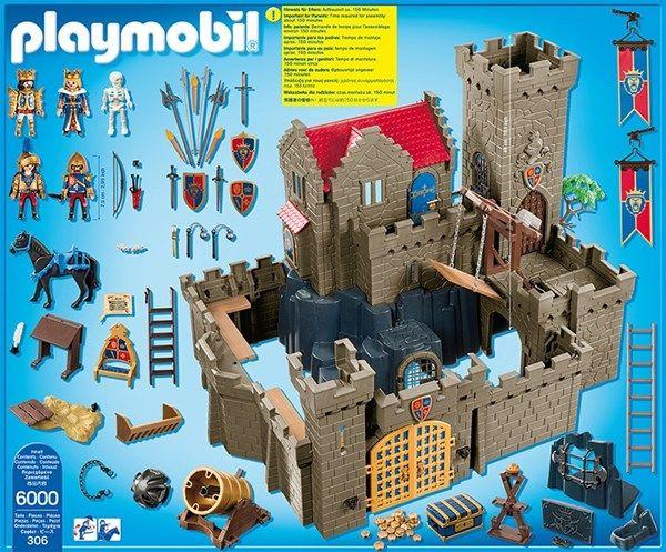 Playmobil Knights , 6000, Lejonriddarnas slott från Playmobil hos Stor&Liten