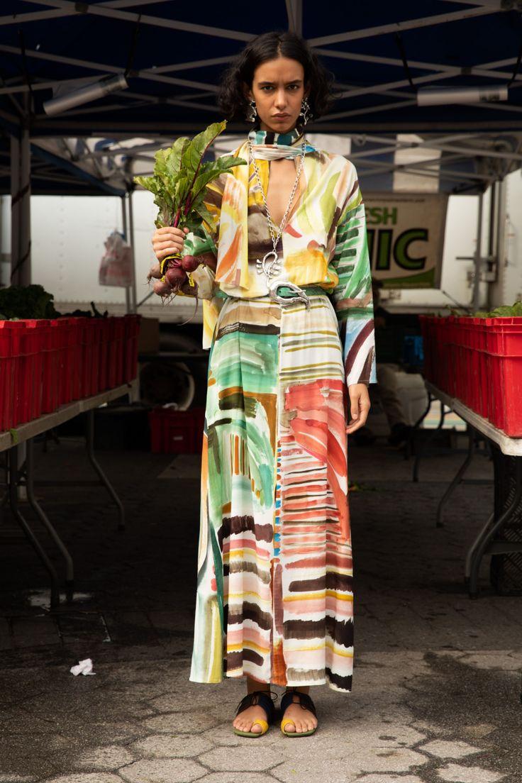 Rosie Assoulin Resort 2020 Fashion Show