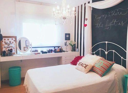 25 timas ideias sobre quartos tumblr no pinterest for Objetos baratos para decorar