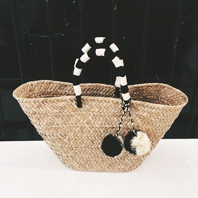 This Bag Is Made Of Natural Seagrass And Also Travels Well