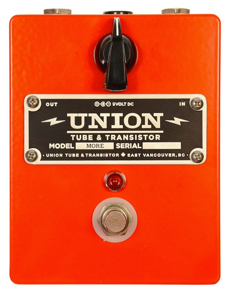 union tube transistor more boost pedal made in vancouver stuff i would like to own. Black Bedroom Furniture Sets. Home Design Ideas