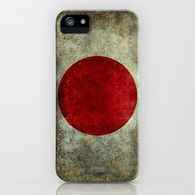 The national flag of Japan iPhone & iPod Case