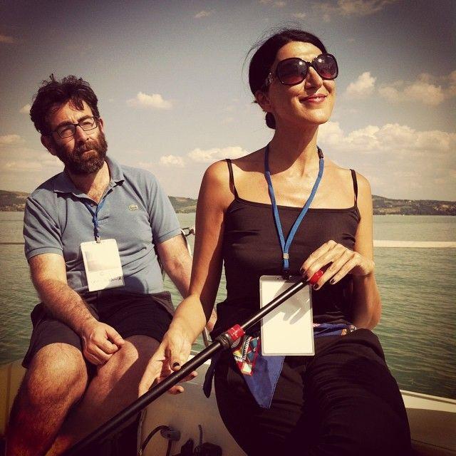 Stiamo veleggiando con la famosa andatura alla cieca #AlTrasimeno @egyzia @umbriatourism foto di @ paraihc