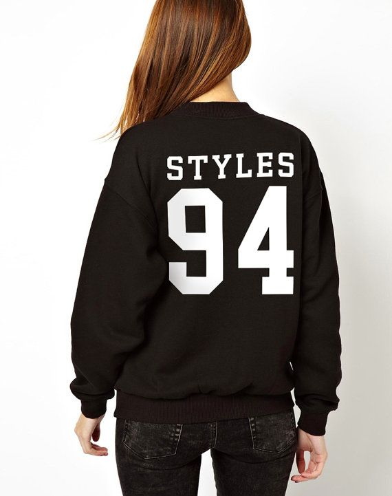 Harry Styles 94 One Direction 1D Sweatshirt Jumper Sweater Crew Neck 1 Direction Sweat Shirt Womens Girls on Etsy, $29.73