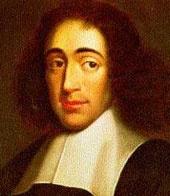 Baruch (Benedetto) Spinoza (Amsterdam, 1632 - 1677) proveniva da una famiglia ebraica di origine spagnola. Compì i suoi studi presso la sinagoga, interessandosi, in privato, alla filosofia ed alla scienza rinascimentali.  Fu espulso dalla sinagoga nel 1656 a causa delle sue critiche verso il dogmatismo religioso.  Abitò per alcuni anni in diverse località olandesi, per poi trasferirsi definitivamente all'Aia nel 1669.