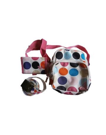 Conjunto bolso cartera y cinturón Quiksilver