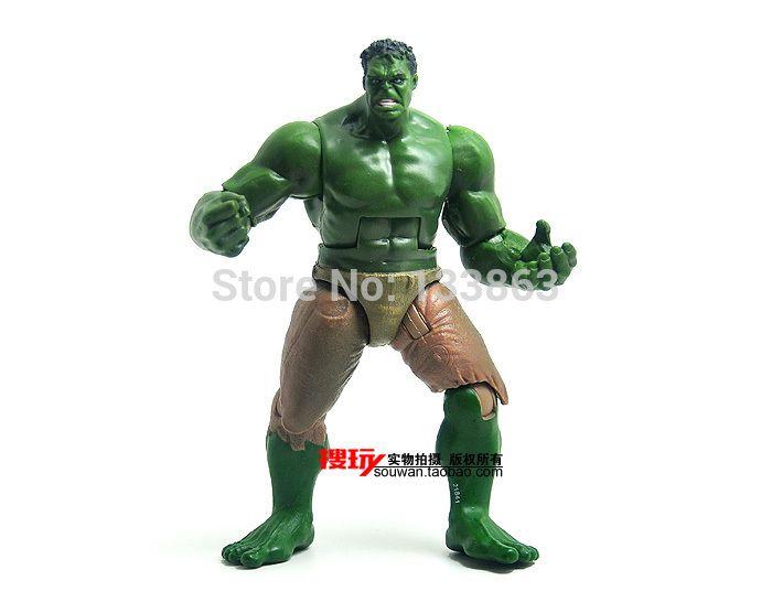 Супер герой мстители фильм халк фигурки игрушки, 12 см пвх модель куклы подвижные