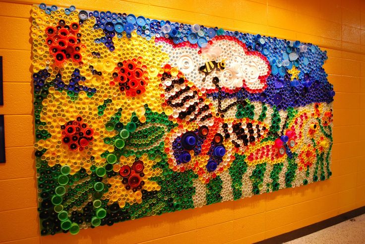 17 best images about wmis bottle cap mural on pinterest for Bottle cap mural