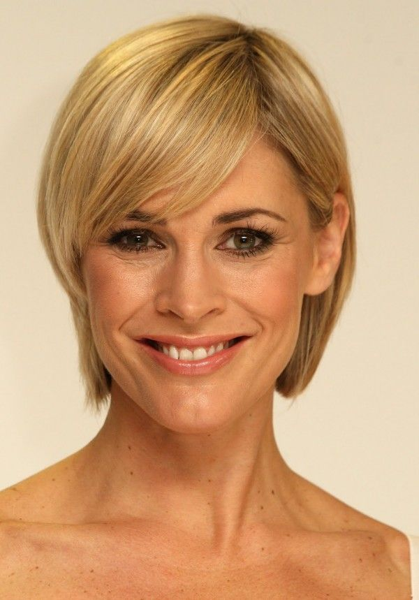 Hairstyles for Fine Thin Hair and Round Face over 50