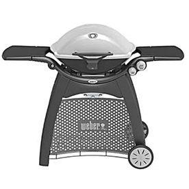 Weber Q-3200 Titanium 2-Burner (21700-Btu) Liquid Propane Gas Grill With Side Burner 57060001