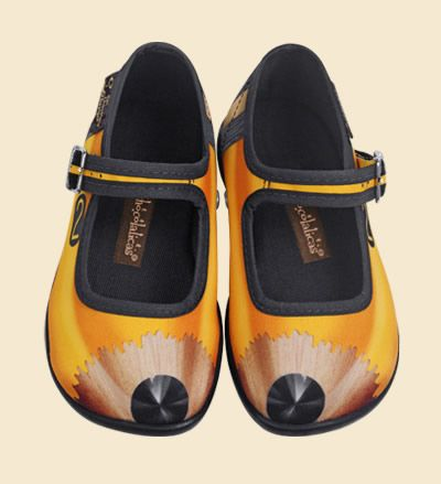 Clic Aquí Shoes by Hot Chocolate Designs This style maybe only in kids size?