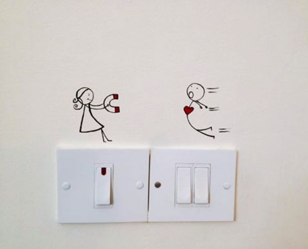 40 Cute And Creative Home Switchboard Art Installation Diy