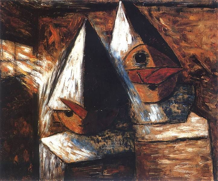 Tadeusz Makowski - Mali pierroci, 1930