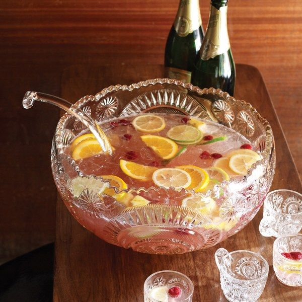 Gin Punch - made this for a party this past weekend and it was a hit! Although it was summer, still was a refreshing punch that wasn't wintery. Will keep this recipe for the next bash!