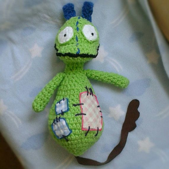 Crocheted Patchy Patch from Toopy and Binoo by CoCoCrochetByLee, $35.00