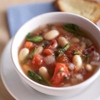 bean soup white bean soup italian white bean spinach spinach white ...
