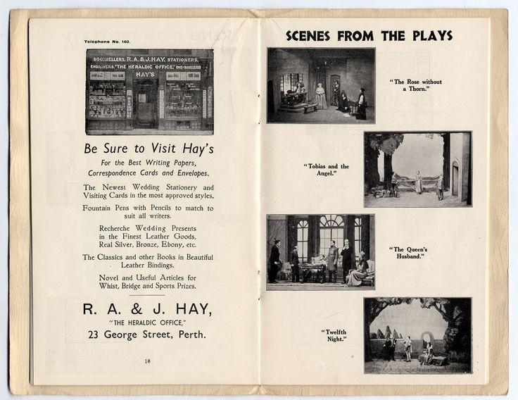 Scene form the Plays In Perth Theatre Scotland 2