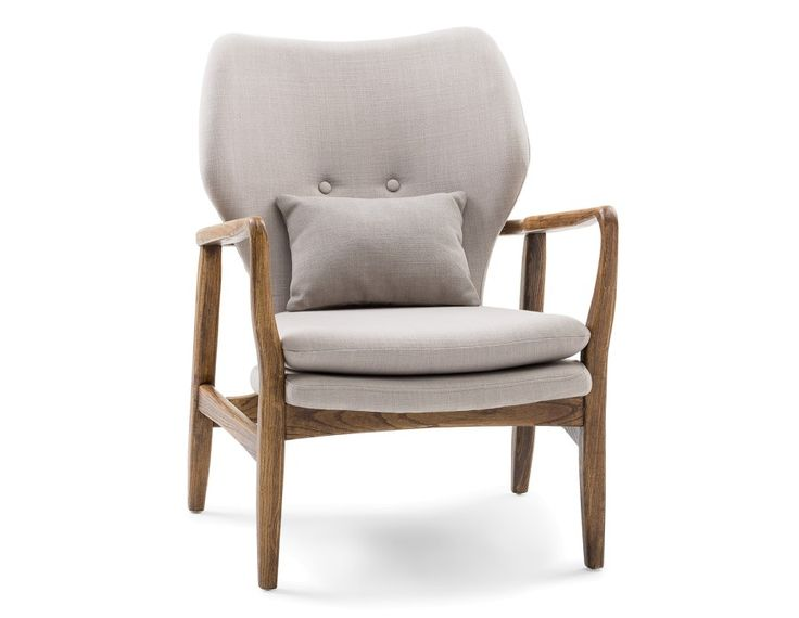KLEIN - Armchair - Beige vibe of chair to go with headboard