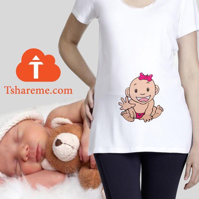 في انتظار مولود جديد ادخلي على الموقع Www Tshareme Com و ارسلي لنا صورة او رسمة و هنطبعها لكي و نوصل ها الى منزلك الامارات Baby Onesies Clothes Onesies