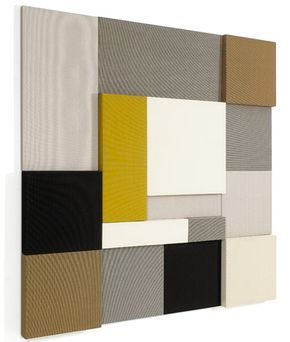 Whisper is an acoustic panel that was created by Finnish designer Tapio Anttila for Woodnotes. Designed to eliminate sound problems for any space, these panels come in different sizes and colors.