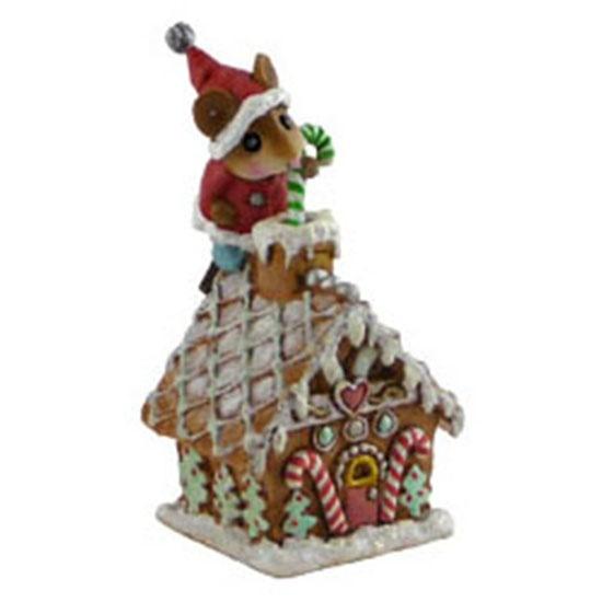 Wee Forest Folk- Wee Santa's Gingerbread House www.weeforestfolkshop.com: Mouse, Www Weeforestfolkshop Com, Santa S Gingerbread, Wee Forest, Christmas, Santas, Wee Santa S, Gingerbread Houses