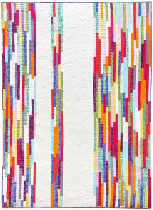 Spring Quilt Pattern @adrienne Raptis-To-Sew.com