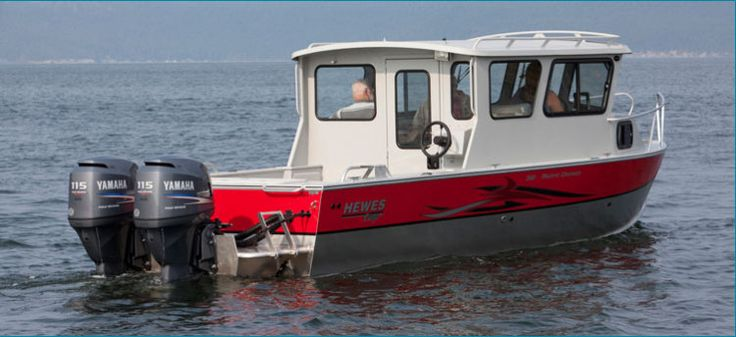 New 2012 Hewescraft 220 Pacific Cruiser ET Multi-Species Fishing Boat
