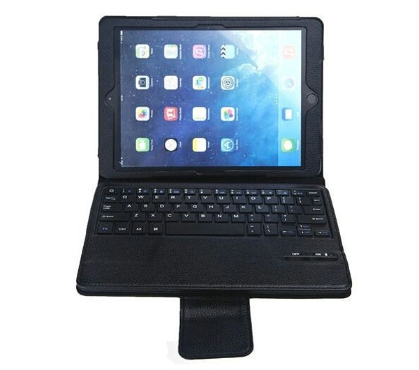 """37.99$  Watch now - http://ali5qm.shopchina.info/1/go.php?t=32366275785 - """"Detachable Removable Wireless Bluetooth Keyboard Leather Stand Case Cover For Apple iPad Air 1 2 iPad5 iPad6 6 9.7"""""""" Tablet""""  #buyonline"""
