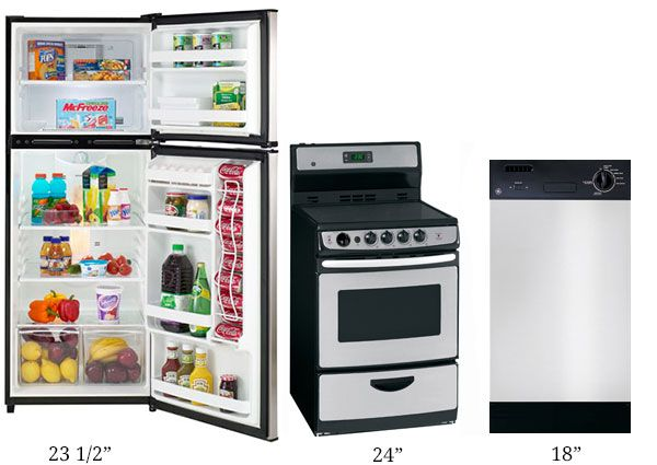 Loft Size Appliances.... Best invention ever for my tiny home!