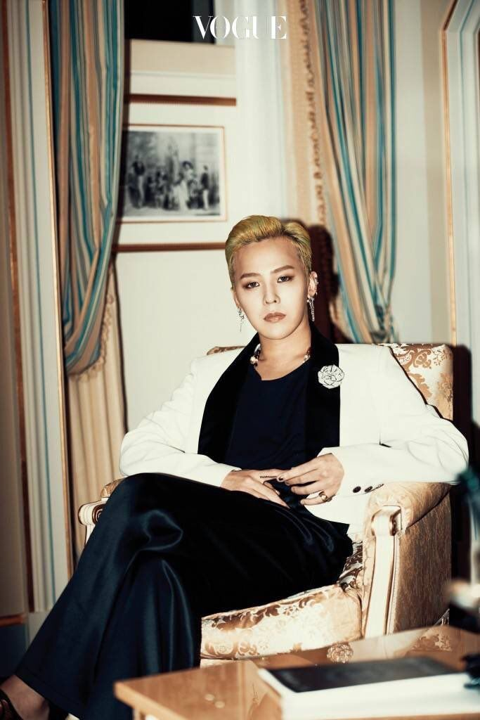 "More G-Dragon for ""Vogue Korea"" Article ""Putting on the Ritz"" [PHOTO] - bigbangupdates"