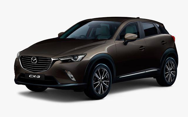 Mazda CX-3 (2016) - Couleurs/Colors