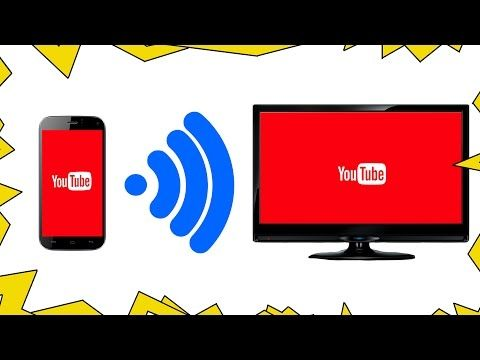 How To connect your Mobile Phone or Tablet to your TV Wirelessly using SCREEN MIRRORING - YouTube