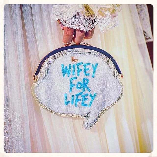 We love #sophiawebster #AW16 #LFW #wifeyforlifey #bridalblogger #fw16 #monarKHE #sophiawebsterbridal #lfw16 #somethingblue #londonfashionweek