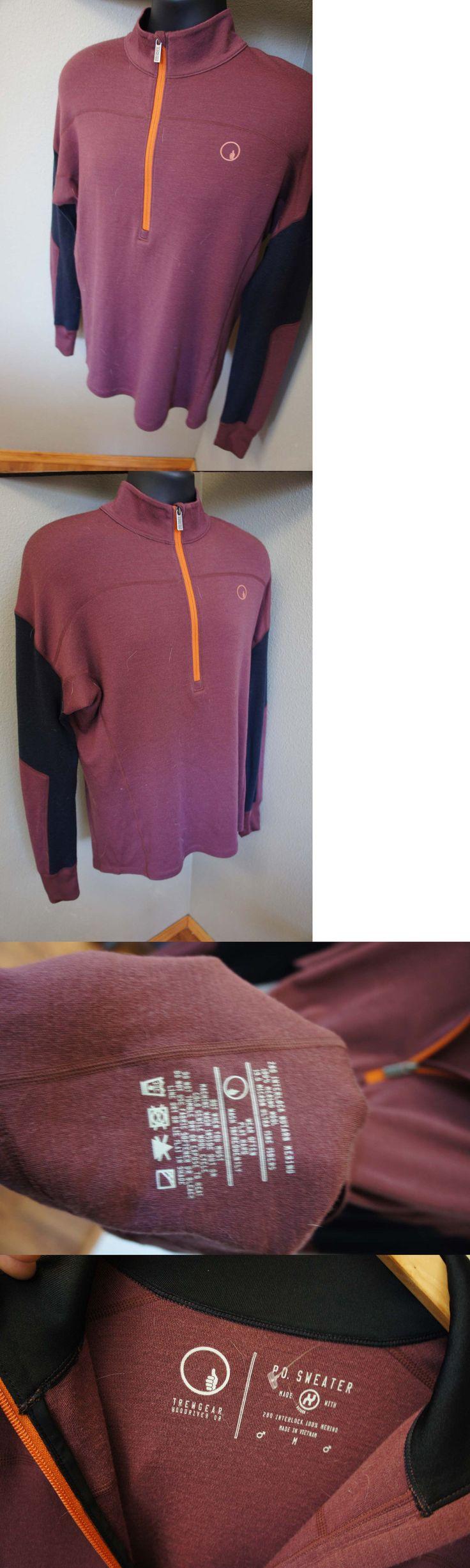 Base Layers 62171: New Trewgear Trew Gear Merino Wool Sweater Ski Base Layer Capilene Icebreaker 68 -> BUY IT NOW ONLY: $44.95 on eBay!