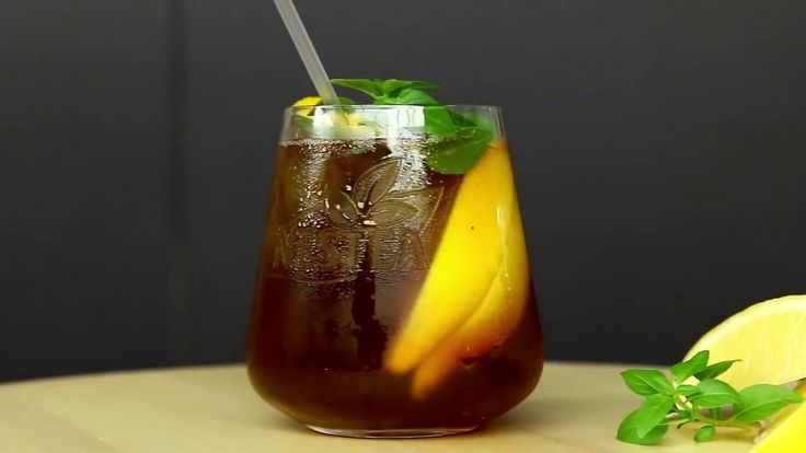 NESTEA Basil & Honey Tea -  Recipe by Simos Tagaras for Nestle GR