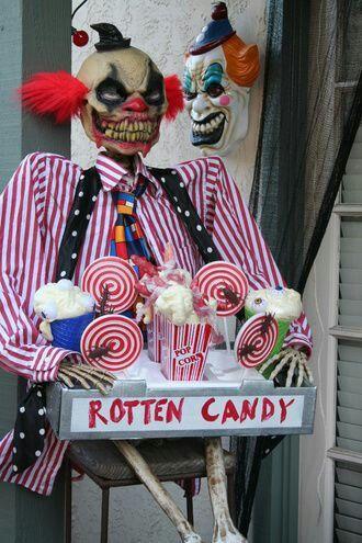Scary Carnival Clown