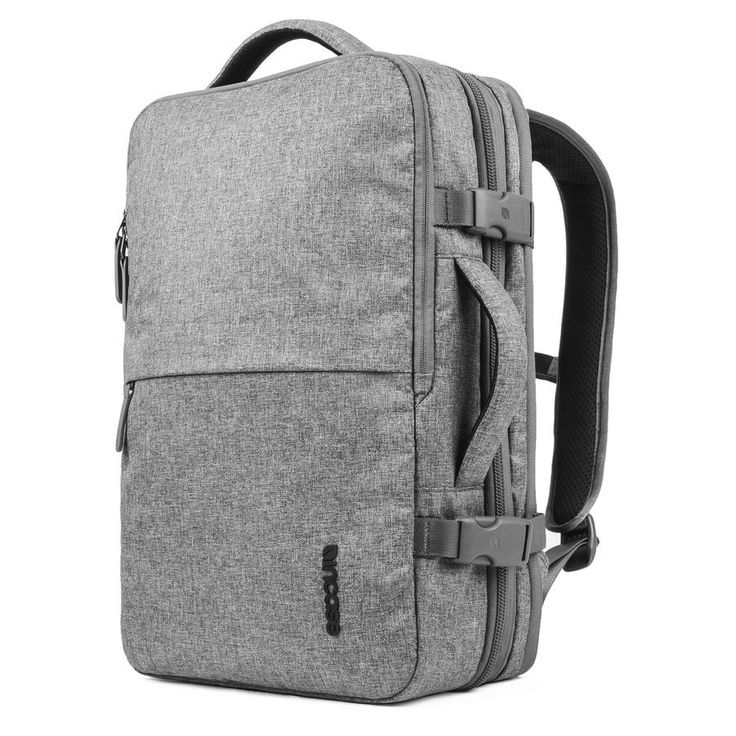 """The EO Travel Backpack is weather-resistant and fits your 17"""" laptop in a compartment designed for quick and easy airport screening. It's expandable main compartment increases capacity by more than 35"""