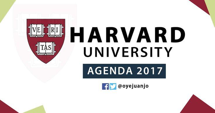 Esta es la agenda de cursos virtuales y gratuitos que la reconocida Universidad de Harvard ha programado para el año 2017.