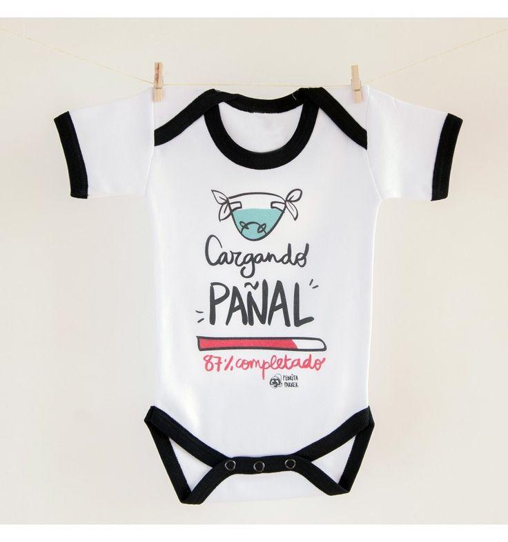 Body bebé Cargando pañal - Pedrita Parker