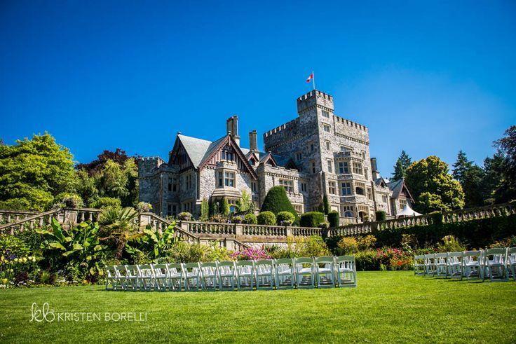 Weddings at Hatley Castle in Victoria, British Columbia. Photographs by Kristen Borelli. www.kristenborelliphotography.com